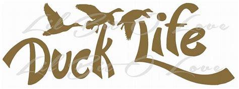 foto de Script Duck Life Duck Hunter Water Fowl Vinyl LilBitOLove