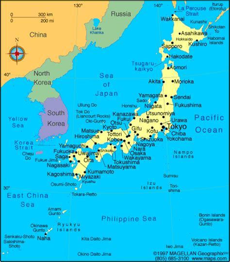 japan landforms