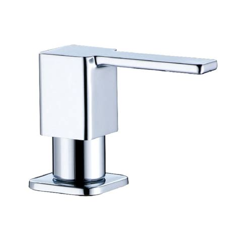 stainless steel sink soap dispenser square stainless steel soap dispenser fit for kitchen sink