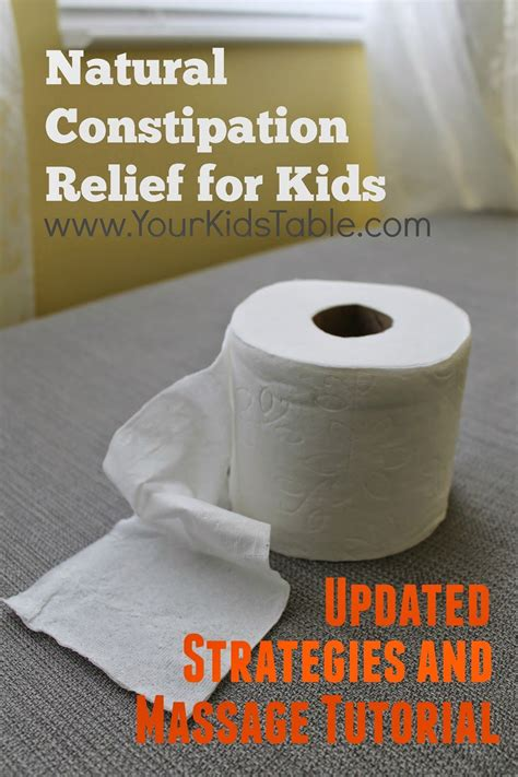 How To Overcome Chronic Constipation In Children