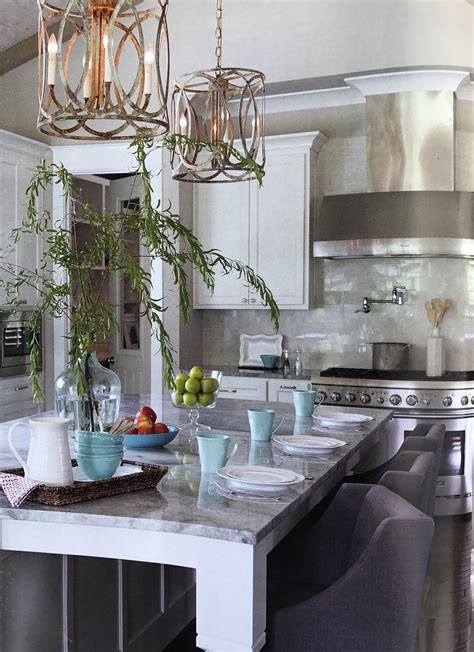 New Orleans Pendant Kitchen chandelier Brown kitchens