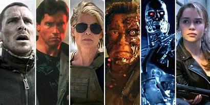 Terminator Ranked Movies Dark Fate Every Worst