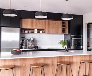 This, Black, And, White, Kitchen, Was, Designed, For, Entertaining, In, Style