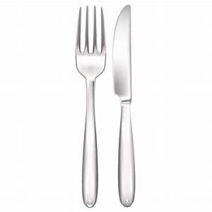 Couvert De Cuisine : stickers couvert cuisine r alistes fourchette et couteau decorecebo ~ Teatrodelosmanantiales.com Idées de Décoration