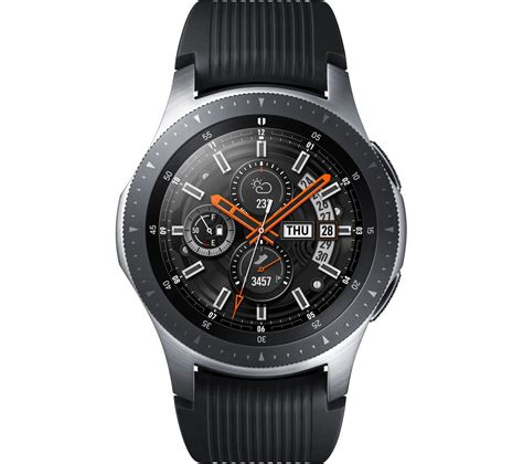 Buy SAMSUNG Galaxy Watch - Silver, 46 mm | Free Delivery ...