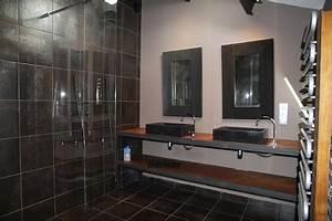 Salle De Bain Style Industriel : jolie d co salle de bain industriel ~ Dailycaller-alerts.com Idées de Décoration