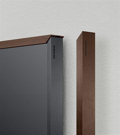 snap wood samsung the frame tv display custom fully