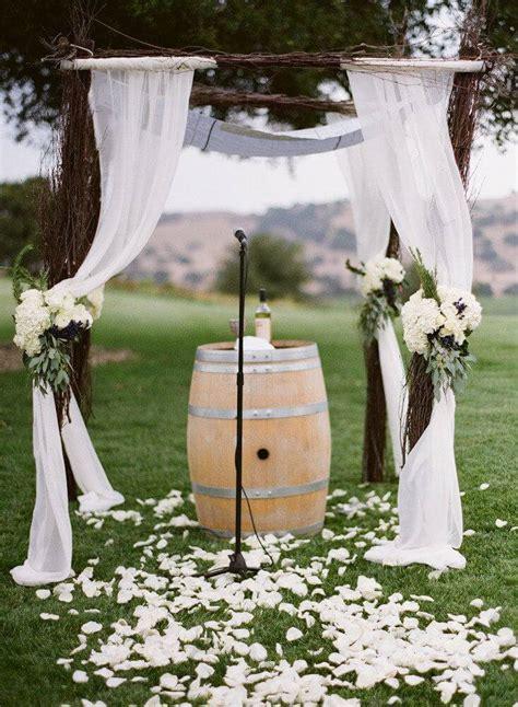 rustic wedding diy wine barrel ideas inspirations