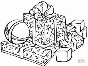 Weihnachtsgeschenke Zum Ausmalen : ausmalbild weihnachtsgeschenk ausmalbilder kostenlos ~ Watch28wear.com Haus und Dekorationen
