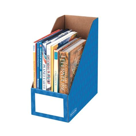 bankers box decorative magazine file bankers box 6 quot magazine file holders ld products