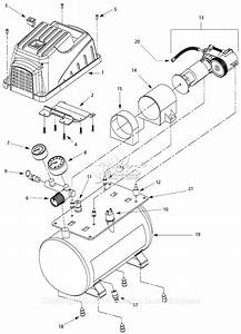 Campbell Hausfeld Fp209001 Parts Diagram For Air