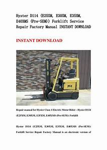 Toyota 02 6fg10 Forklift Factory Service Work Shop Manual