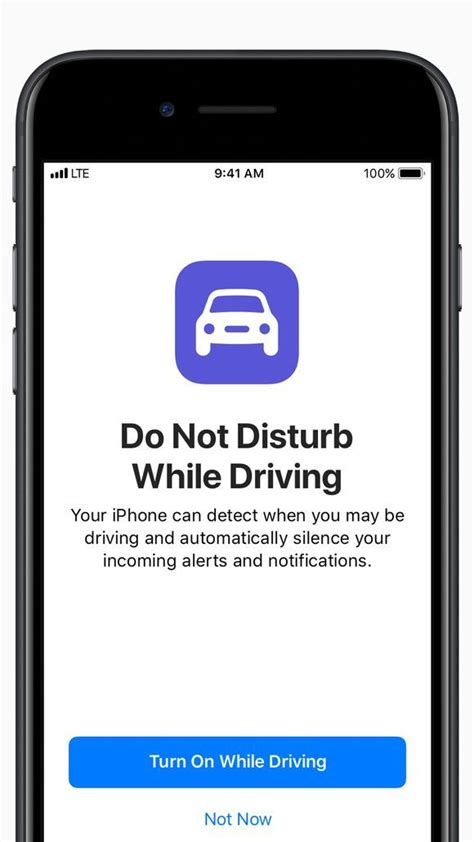 what does the do not disturb on iphone do iphones will get a do not disturb while driving mode