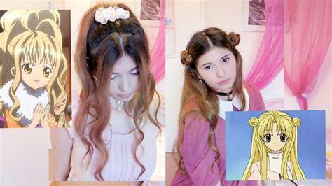 easy anime hairstyles youtube