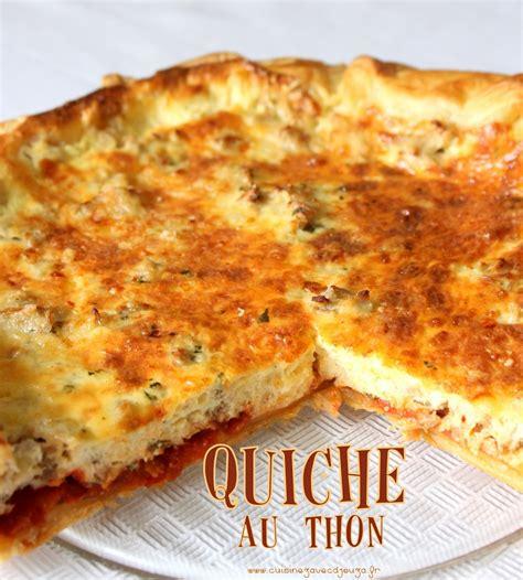 thon cuisine cuisine marocaine quiche au thon