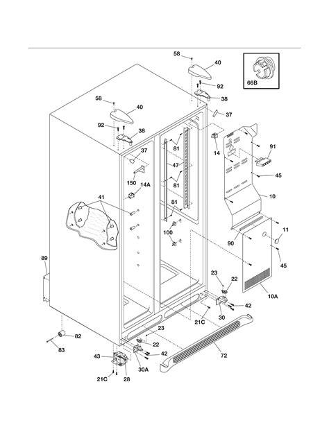 refrigerator parts sears kenmore refrigerator parts diagram