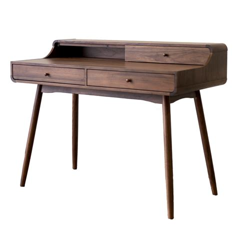 wood writing desk reclaimed wood desk casual cottage