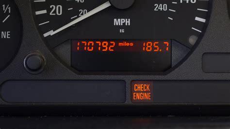 Check Engine Light Troubleshooting On A Bmw E36