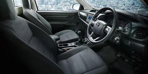 toyota hilux interior additional variants revealed