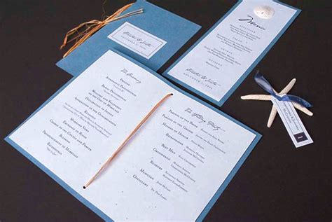 wedding program design ideas  guide  party guest