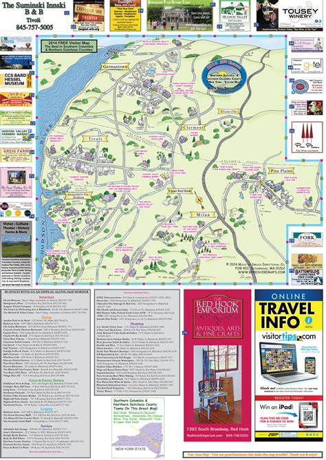 berkshire maps tivoli clermont elizaville annandale
