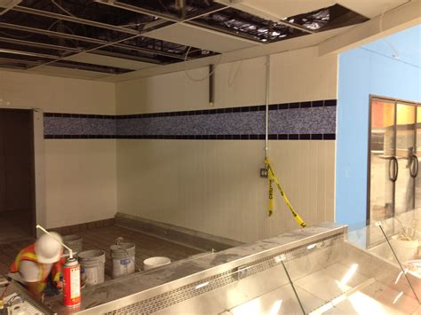 commercial kitchen backsplash backsplash projects from flamingo tile inc flamingo