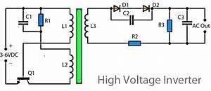 High Voltage Inverter Circuit Diagram