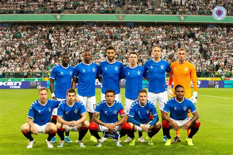 Gallery: Legia Warsaw 0-0 Rangers - Rangers Football Club ...