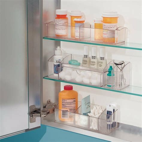 bathroom organizer storage makeup medicine cabinet drawer