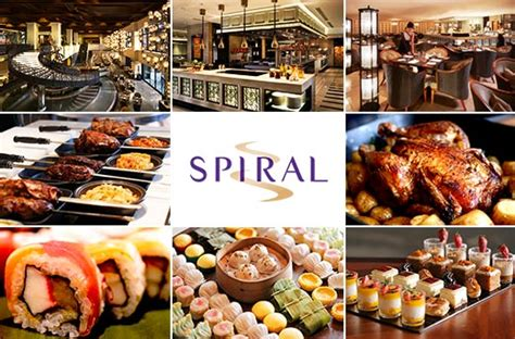 spirals lunch  dinner buffet promo