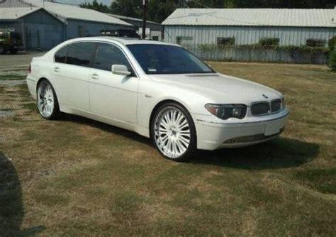 find   bmw li sedan  asanti white  white