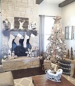 Farmhouse-style, Easy, Rustic, Christmas, Decor, Ideas