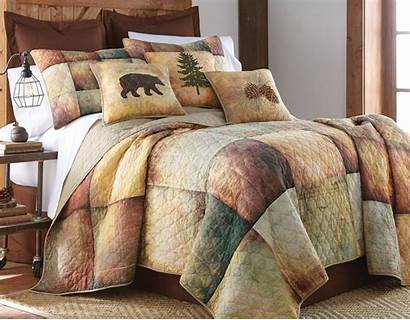Quilt Cabin Country Queen King Twin