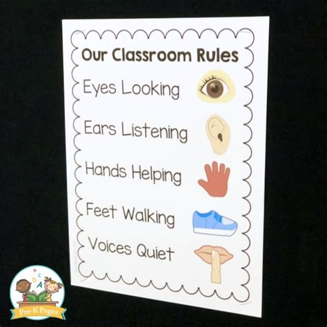 preschool classroom 676 | Printable Classroom Rules for Preschool