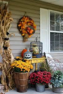 Fall Halloween Decorating Ideas