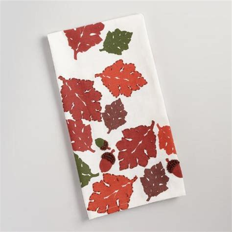 Fall Leaves And Acorns Embroidered Kitchen Towel  World. Red Living Room Accent Chairs. Small Living Room Ideas With Dark Furniture. The Living Room Furniture Store. Painting Living Room Walls 2 Different Colors. Best Contemporary Living Room Furniture. Living Room Denver Bar. Living Room Grey And Blue. Pinterest Living Room Rustic