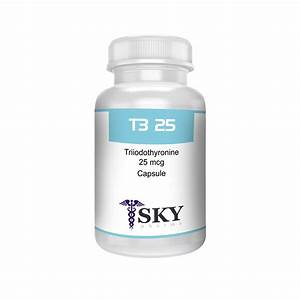T3 25 Mcg For Weight Loss And Performance Enhancement