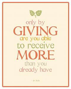 GIVING TO OTHERS Quotes Like Success