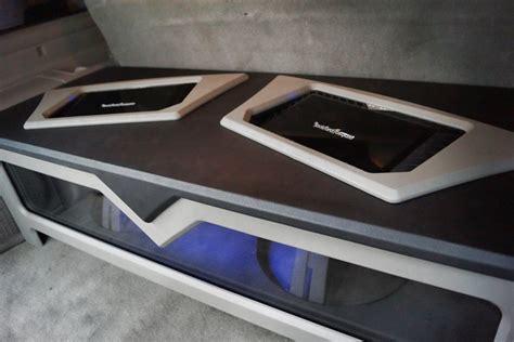 Rockford Fosgate Custom Sub Enclosure Speaker Box Mr