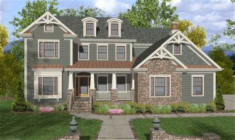 Craftsman Style House Plan 4 Beds 4 Baths 2964 Sq/Ft