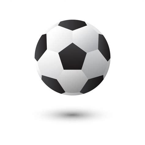 foto de Pallone da calcio o calcio vettoriale isolato su sfondo