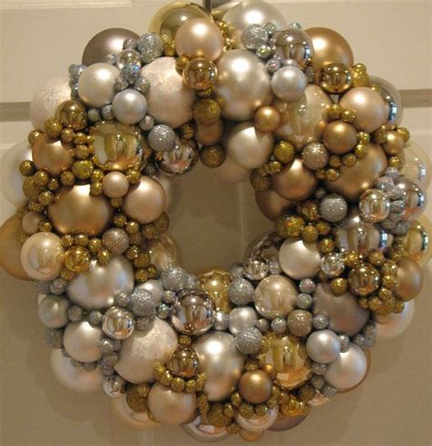 sparkling gold and silver christmas wreath gold wreath