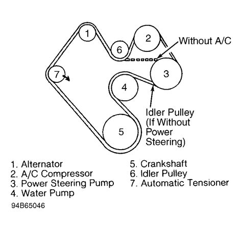 Jeep Wrangler Serpentine Belt Routing Timing