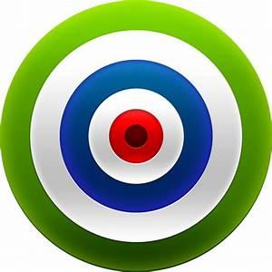 3D target & dart PSD & icons - GraphicsFuel