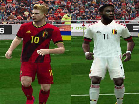 ultigamerz: PES 6 Belgium 2020-21 Home & Away Kits