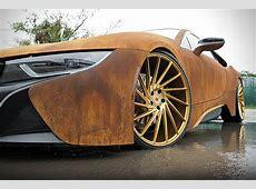 BMW i8 Rust Wrap Custom by MetroWrapz HiConsumption