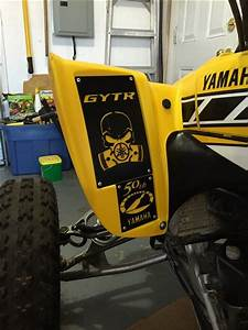 Yamaha Yfz450 Warning Labels  Set Of 4
