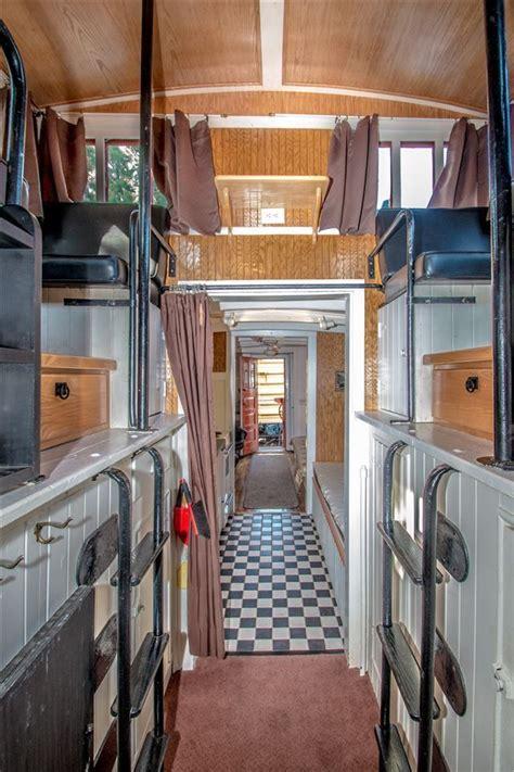 locomotive living      train car home