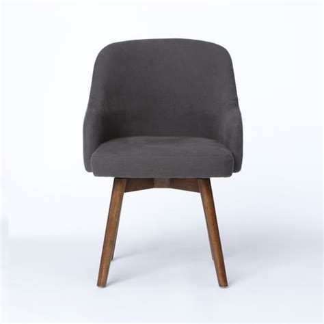 saddle swivel office chairs west elm