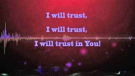 Trust In You (lyric Video) Chords
